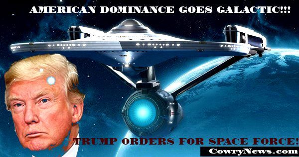 trump space force, trump military, trump china russia