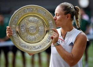 angelic kerber, serena williams, women wimbledon, azu okon, serena angelique
