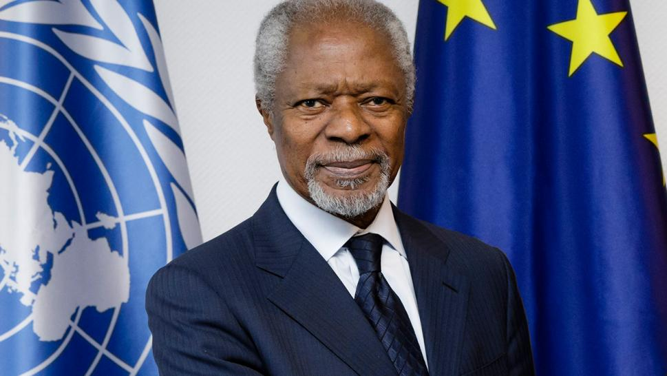 kofi annan, UN, Ghana,