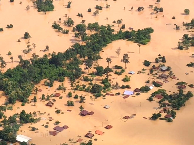 mekong dam collapse, laos dam burst, dam collapse
