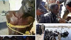 arab racism, libya slavetrade, black genocide