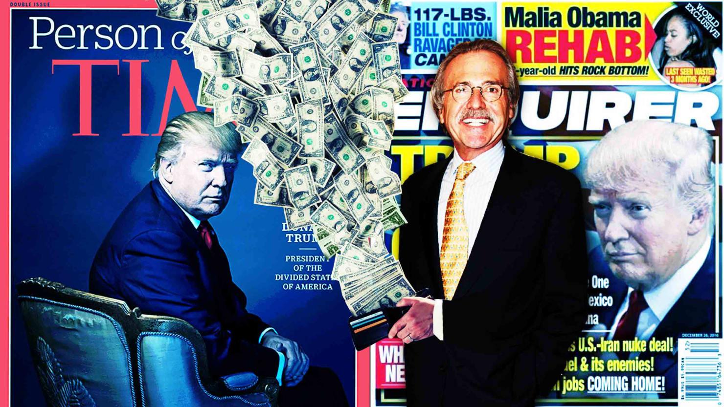 trump, david pecker, trump pecker, mueller investigations