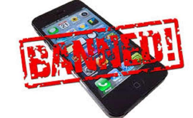 phone ban, indian phone ban