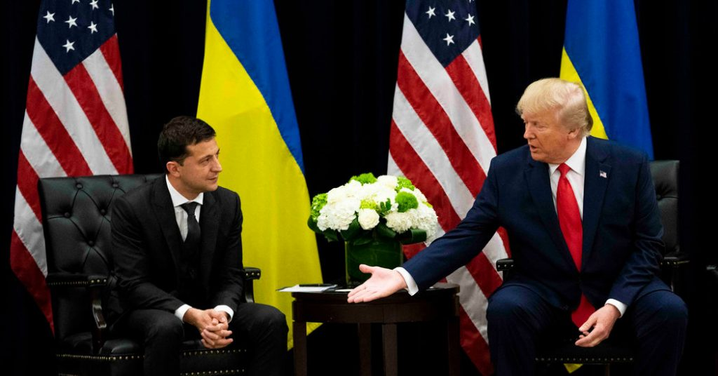 trump zelensky impeachment