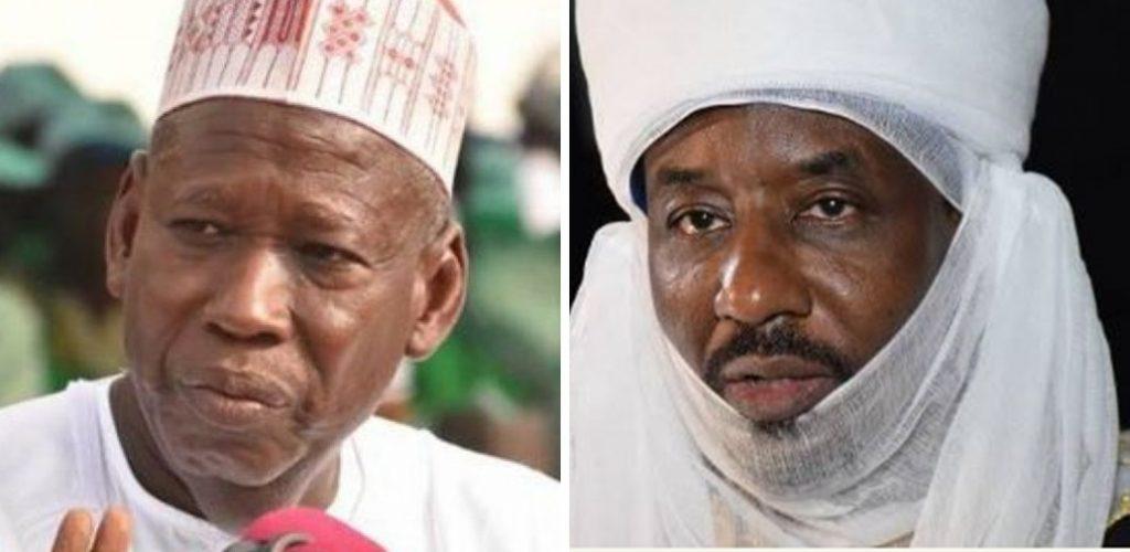 governor ganduje, mohammed sanussi 11, emir of kano