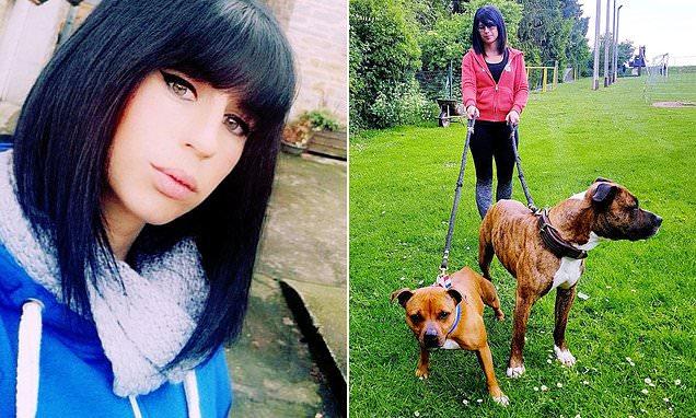 pregant paris woman killed by dogs, hunting dogs kill woman