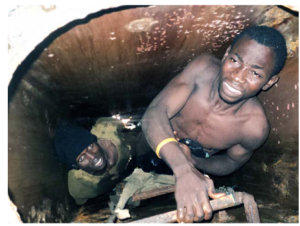 chinese crew throws african stowaway in oceac