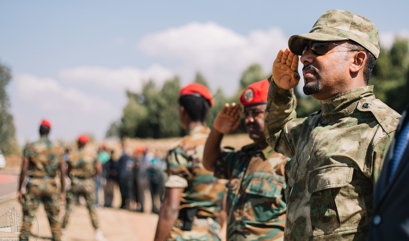 Image result for abiy ahmed ethiopian army