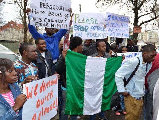 nigerian students ukrain