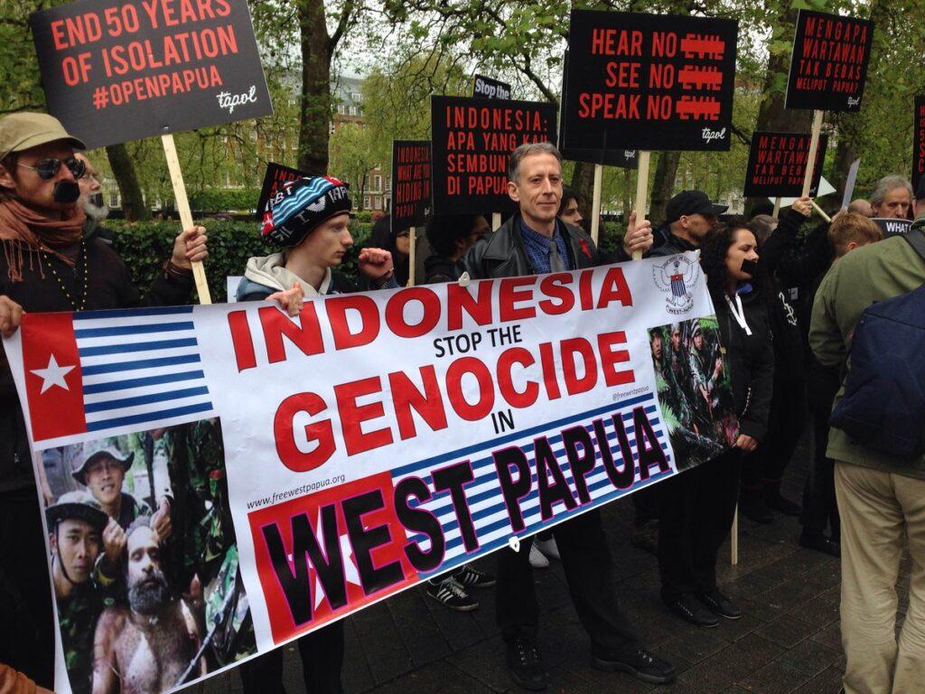 west papua genocie