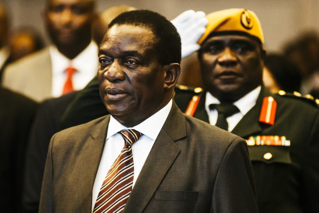 Zimbabwe president mnangagwa